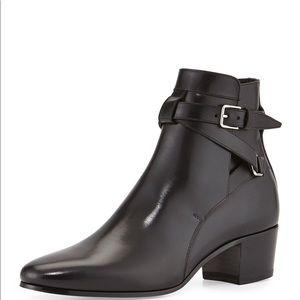Saint Laurent Jodhpur Boot 37 Black Leather